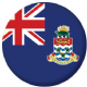 Cayman Islands Flag 58mm Button Badge